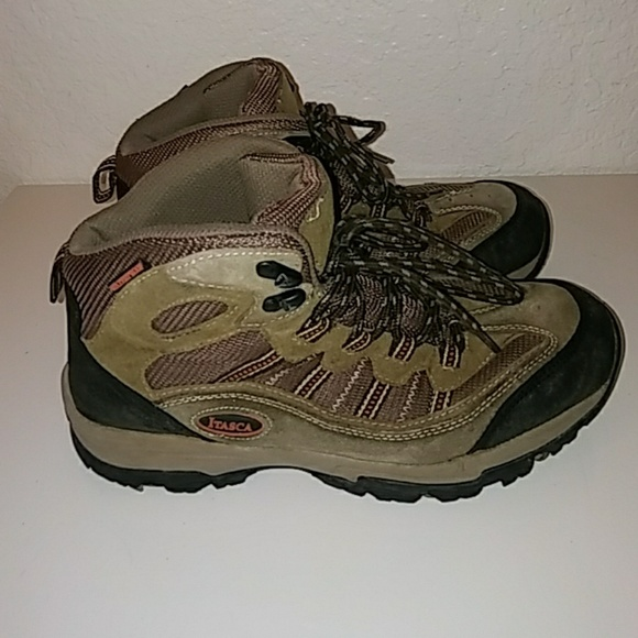 11fd9cdfb57 Itasca Mens Hiking Boots Tan 451055 Size 7.5